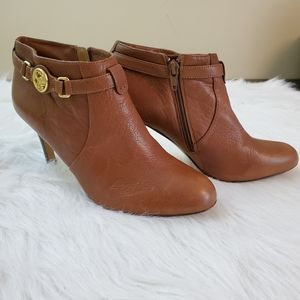 **Coach Salene Sz 6.5 Brown Leather Bootie